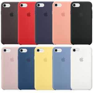 Original Apple iPhone 7 / 8 Silikon Schutzhülle Handy Hülle Case Cover in OVP