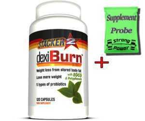 Stacker2 Dexi Burn Fat Burner 120 Caps Fatburner Fettverbrennung Diät Abnehmen