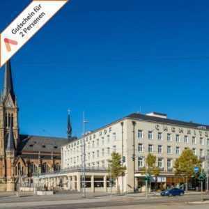 Kurzreise Chemnitz 3 Tage für 2 Personen zentrales First Class Hotel Gutschein
