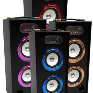 44cm TRAGBARE BLUETOOTH LAUTSPRECHER - VERS. FARBEN - SOUNDBOX - FM,AUX,SD,MP3