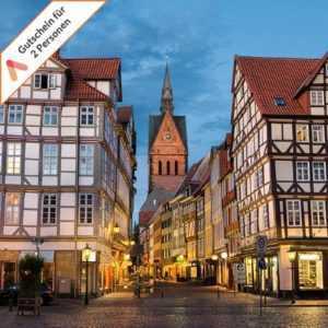 Kurzreise Hannover Wochenende 3 Tage für 2 Personen Hotel Gutschein Kurzurlaub