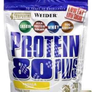 Weider Protein 80 Plus 2Kg Beutel (23€/Kg) Mehr- Komponenten Eiweiß Shake !Info*