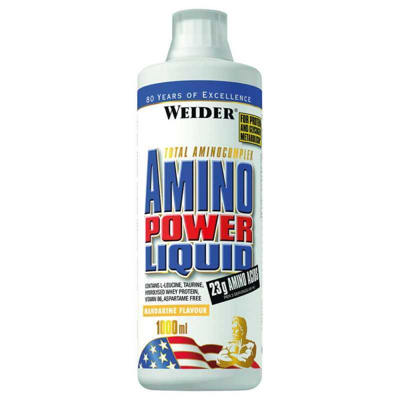 Weider Amino Power Liquid , 1000ml Aminosäuren