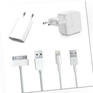 ORIGINAL APPLE Ladegerät Ladekabel Netzteil Datenkabel für iPhone iPad iPod NEU!