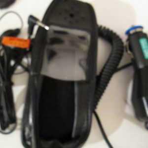 Trium Galaxy Set Heat Set KFZ Lader Leder Tasche Gürtel Clip schwarz