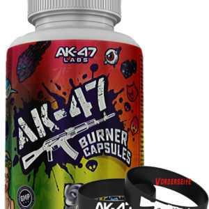 AK-47 Burner Capsules 60 Caps Fatburner Fettverbrennung Diät Fettreduktion Sport