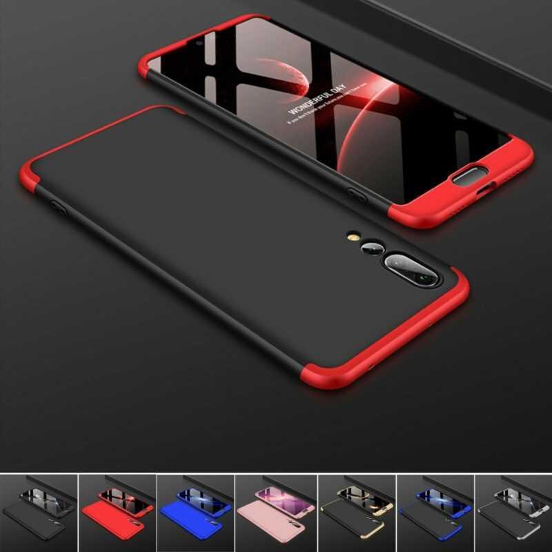 Hülle Huawei P20 P20 Lite P20 Pro Full Cover 360 Grad Handy Schutz Case Tasche