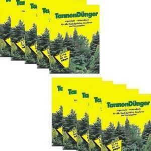 1,67€/KG - Tannen Dünger 2,5kg (10x) für Nadelgehölze Koniferen Dünger