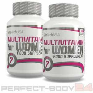 (109,48€/kg) 2x BioTech USA Multivitamin for Women 60 Tab. Vitamine