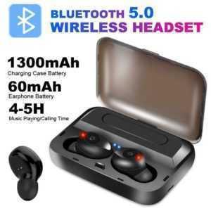Sport Wireless In-Ear-Kopfhörer Ohrhörer Bluetooth 8D Stereo Samsung iPhone