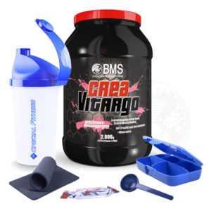 19,90€/kg BMS CreaVitargo Carboloader 2kg Dose Kohlenhydrate Creatin + BONUS