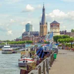 Düsseldorf Wochenende Gutschein 3* Hotel für 2 Personen Hotelgutschein 2 Nächte