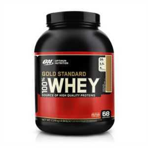 Optimum Nutrition 100% Whey Gold Standard 2270 g Gratis 2 x Optimum Protein Bar