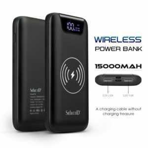 Powerbank 100000mAh External Charger tragbare 2USB Batterie Für Samsung Huawei