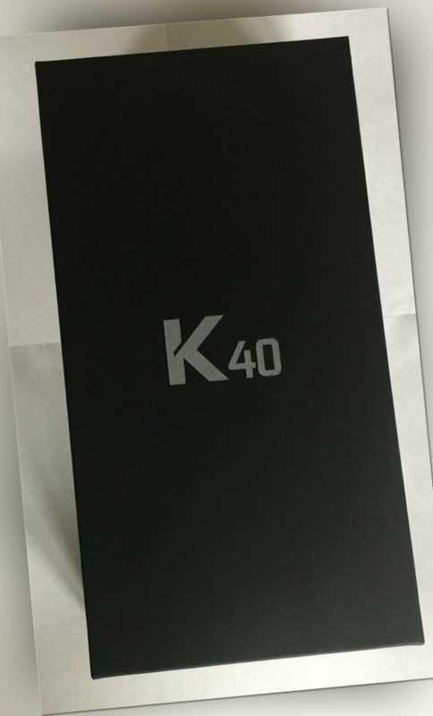 LG K40 black LM-X420EMW RÜCKLÄUFER 16Mpx Kamera Android  Whatsapp 5,7 Zoll 2GB R