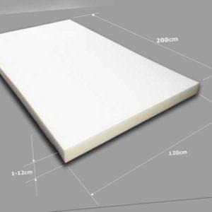 Schaumstoff Schaumstoffpolster Schaumstoffplatte Matratze Matte Schaum 120x200cm