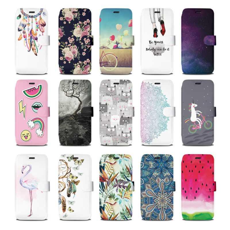 Mobiwear Hülle Xiaomi Mi A3 Book Style Handy Motiv Tasche Flip Case Cover