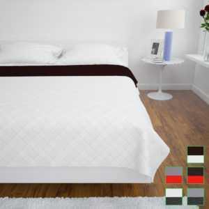vidaXL Zweiseitige Tagesdecke Steppdecke Bettüberwurf Steppung mehrere Auswahl