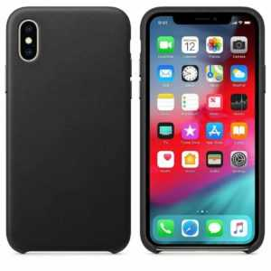 Leder Hülle Apple iPhone X XS MAX XR Ledertasche Original Design Leather Case