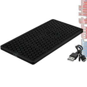 Eufab Antirutschpad mit Induktions-Ladefunktion Induktionsladegerät Qi wireless