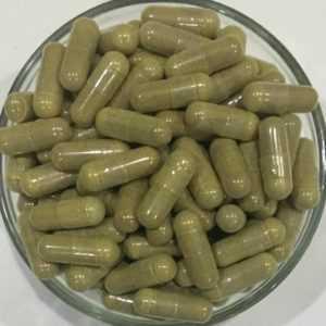 Lakritze oder Lakritz Extrakt Kapseln Glycyrrhiza Glabra Glycyrrhizinic Säure