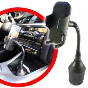 scozzi® 360° KFZ Handy Halter für Getränkehalter Dosenhalter Navi Auto Halterung