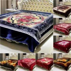 XXL Kuscheldecke 200x240cm Bett Decke Doppelseitige 2 PLY Doppel