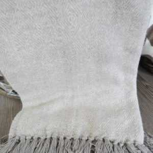 Kuscheldecke Riviera Maison  Cortina Soft Grey Throw 170X130