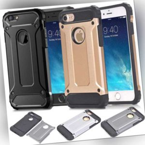 iPhone 11 XS 8 7 6 5 Outdoor Handy Hülle Panzer Case Schutz Cover Silikon Bumper