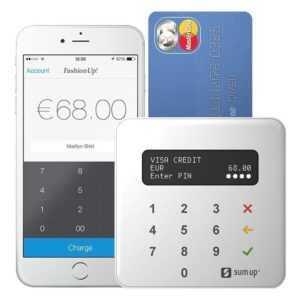 SumUp AIR kontaktloses Kartenterminal, mit mobilem EC Kartenlesegerät *NEU