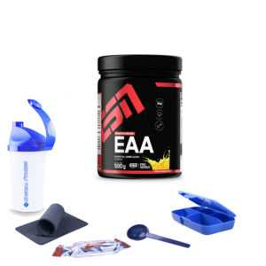 59,80€/kg ESN EAA Pulver 500g Dose Aminosäure Fitness Hochwertig + BONUS