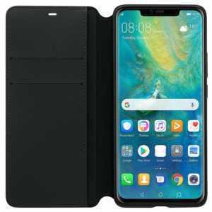 Huawei Original Wallet Cover Mate 20 Pro schwarz Schutzhülle Case