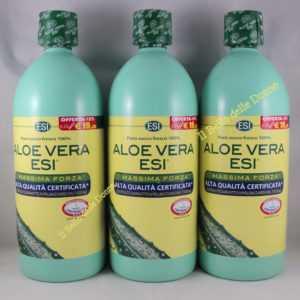 Angebot 3x1000ml Esi Aloe Vera Saft Reine Kühl 100% Maxime Force Natürliche
