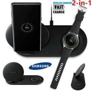 Wireless Charger Schnelles Ladegerät Kabellose Ladestation Induktive Für Samsung