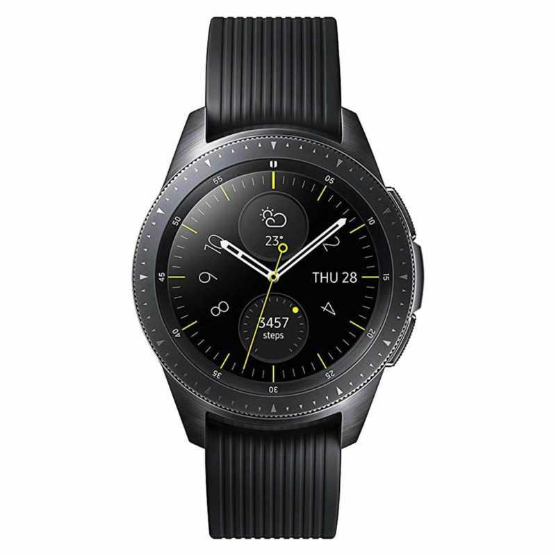 Samsung Galaxy Watch R810 42mm WLAN Smartwatch Fitnesstracker Armbanduhr Uhr