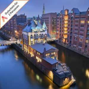 Kurzurlaub Hamburg 3 bis 4 Tage 4 Sterne Gutschein Hotel Panorama für 2 Personen