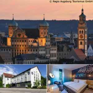 2-5 Tage Städtereise AUGSBURG Arthotel ANA Aura Aystetten Wochenende 2 Personen
