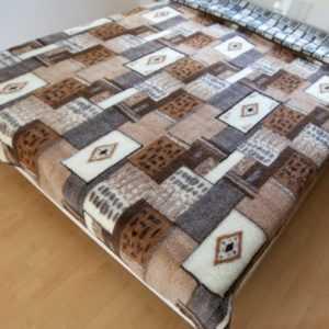 Wolldecke Tagesdecke Überwurf  Sofadecke Decke 100% Merinowolle