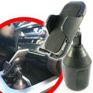 scozzi® 360° KFZ Handy Halter Halterung für Dosenhalter Getränkehalter Navi Auto