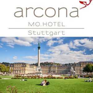 Stuttgart Wochenendtrip 3 Tage 4-Sterne arcona MO Design Hotel für 2 Personen