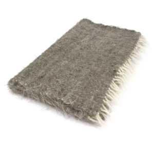 handgewebte Decke Wolldecke Wolle Läufer Unterlage 70 x 150 cm
