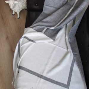 Decke Wolldecke Wollplaid Couchdecke Sofadecke 130x205 mit 20%