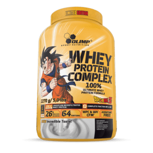 Olimp Whey Protein Complex 100% 2270g Dose Limited Edition Dragon Ball Z Eiweiß