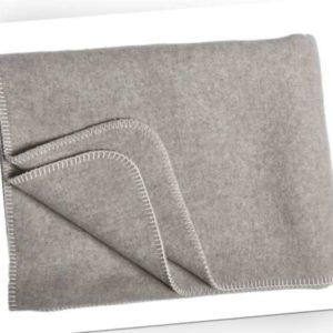 Wolldecke 100% Schurwolle ohne Fransen - in versch. Größen und