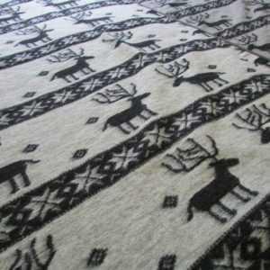 Wolldecke Tagesdecke Sofadecke Couchdecke Wollplaid Decke 100%