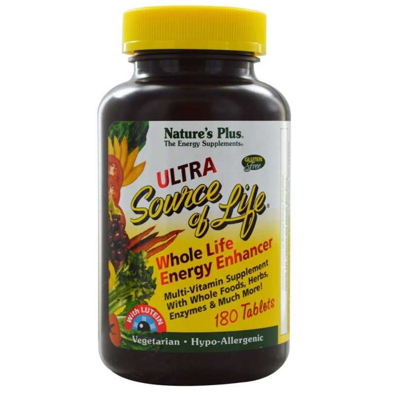 Natures Plus Ultra Source of Life 180 Tabletten