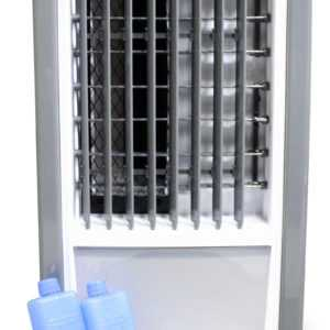 SHE Air Cooler mobiler Luftkühler Ventilator Wasserkühlung Klima 4,5L 65 Watt