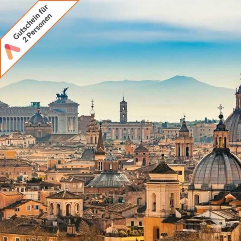 Kurzreise Rom Italien 4 Tage für 2 Personen zentrales Hotel Gutschein Animod