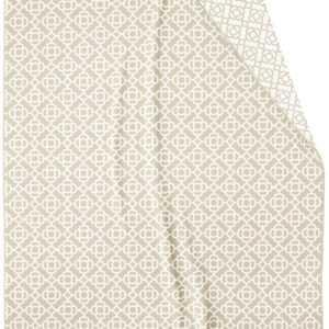 Biederlack Wohndecke  Mosaic natur-beige 715104  | Mischgewebe |