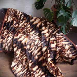 Kuscheldecke Tagesdecke Wohndecke Decke Plaid Tiger - Design